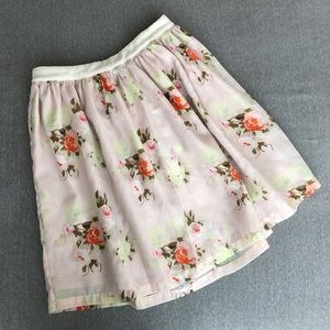 Piperlime floral skirt